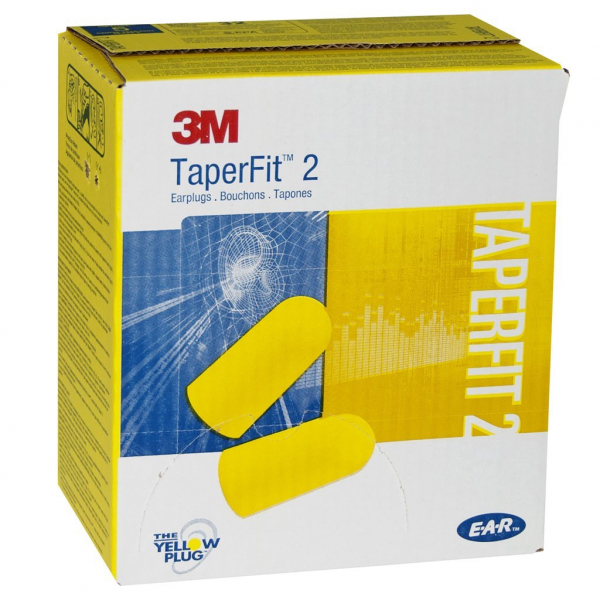 3M Aust EAR PLUG 3M E.A.R. TAPERFIT II REGULAR 26db CLASS 5  200pr